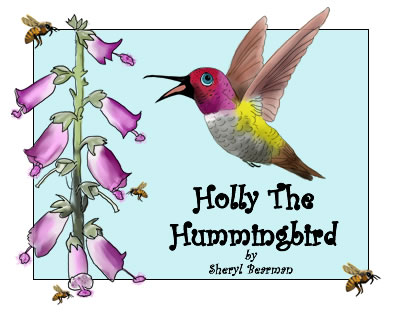 Holly The Hummingbird | Amazon & Amazon Kindle | Children's Picture Book
