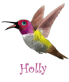 Holly | Holly The Hummingbird | Children's Picture Book  | Amazon & Amazon Kindle