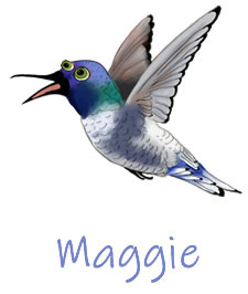 Maggie | Holly The Hummingbird | Children's Picture Book  | Amazon & Amazon Kindle