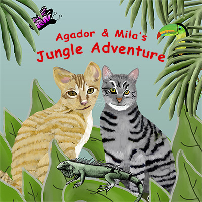 Agador and Mila's Jungle Adventure | Amazon & Amazon Kindle | Children's Picture Book
